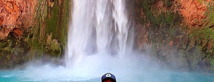 Mooney Waterfall is one of Supai, AZ.