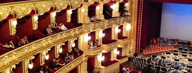 Одеський національний академiчний театр опери та балету / Odessa National Opera and Ballet Theatre is one of Lieux qui ont plu à Illia.