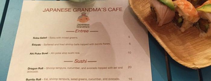 Japanese Grandma's Cafe is one of Kauai.
