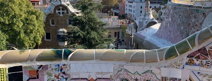 Parc Güell is one of Barcelona: culture, Tapas and Wines.