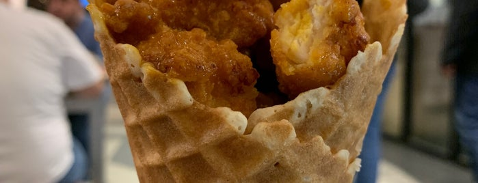 Chick'nCone is one of Food Mania - Manhattan.