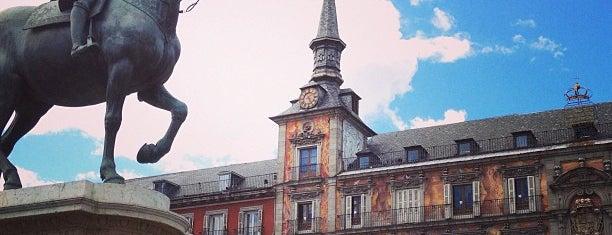 Plaza Mayor is one of Best of Madrid.