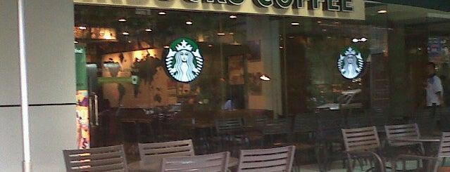 Starbucks is one of สถานที่ที่ Silver ถูกใจ.