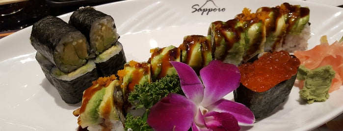 Sapporo Japanese Steakhouse is one of Tempat yang Disukai Kelsey.