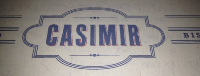 Casimir is one of French Restaurant.