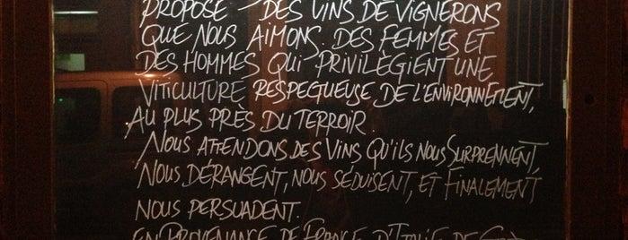 La Cave de Septime is one of Lieux qui ont plu à Paris by wine.