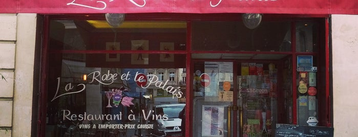 La Robe et le Palais is one of The BEST wine restaurants in Paris.