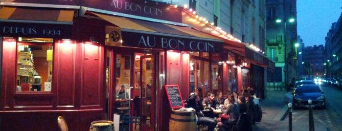 Au Bon Coin is one of Lieux qui ont plu à Paris by wine.