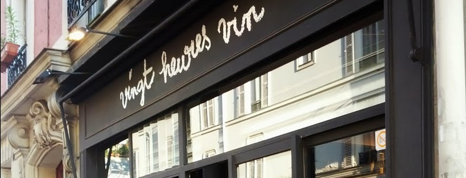 Vingt Heures Vin is one of Locais curtidos por Paris by wine.