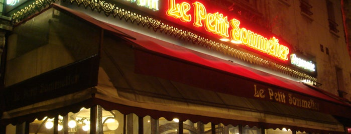 Le Petit Sommelier is one of Orte, die Paris by wine gefallen.