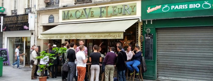 Ma Cave Fleury is one of Locais curtidos por Paris by wine.