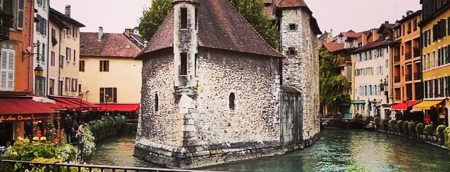 Palais de l'Isle is one of Annecy.
