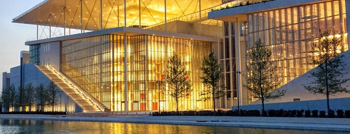 Stavros Niarchos Foundation Cultural Center is one of สถานที่ที่ George ถูกใจ.