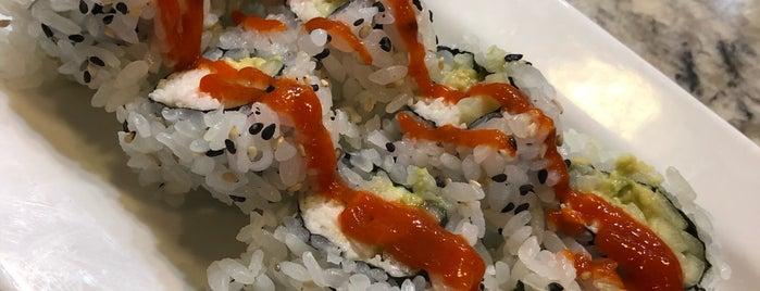 Eurasia Sushi Bar & Seafood is one of Orte, die Pam gefallen.