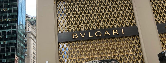 Bvlgari is one of NY.