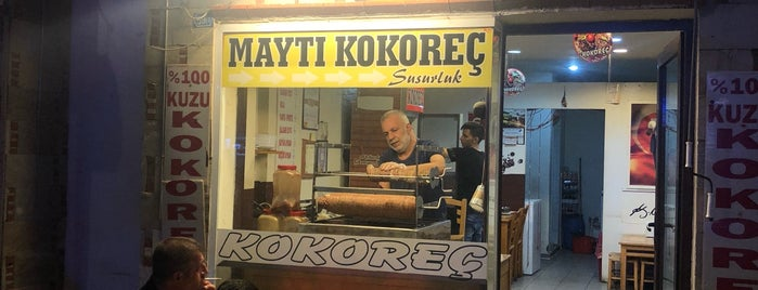 Maytı Kokoreç is one of Lieux qui ont plu à Ali.
