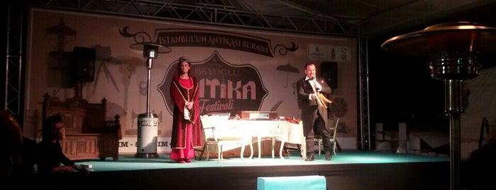 Beyoğlu Antika Festivali (03-08) Kasım Arası is one of Tanj' H.'ın Beğendiği Mekanlar.