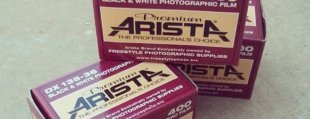 Freestyle Photographic Supplies is one of Justinさんのお気に入りスポット.