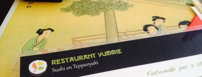 Yummie Sushi Tepanyaki is one of New Amsterdam.