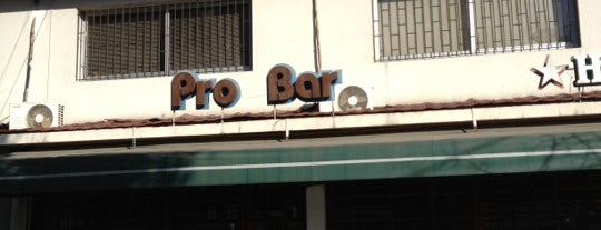 Probar is one of Ruta happy hours/vida nocturna.