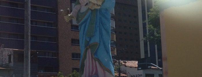 Paróquia Nossa Senhora da Saúde is one of Locais salvos de Arquidiocese de Fortaleza.