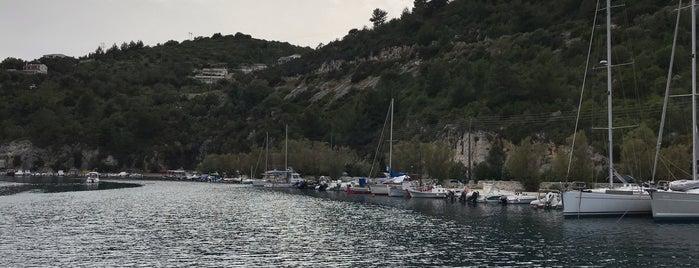Paxos New Port is one of Corfu, Greece.