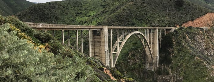 Rocky Creek Bridge is one of Califórnia.