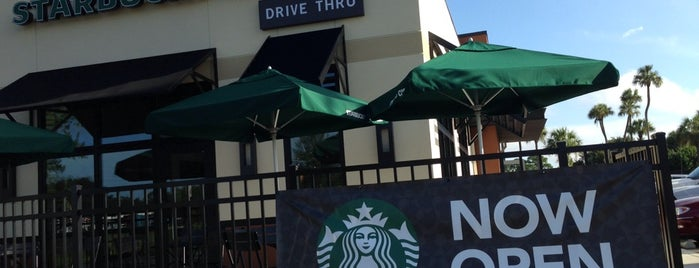Starbucks is one of Florida.