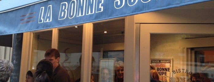 La Bonne Soupe is one of NYC Restaurants Pubs.