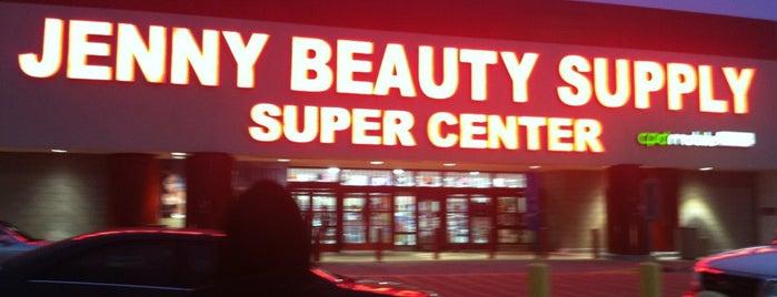 Jenny Beauty Super Center is one of สถานที่ที่ Reneeshia ถูกใจ.