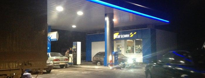 АЗС Газпром is one of Alinkaさんのお気に入りスポット.