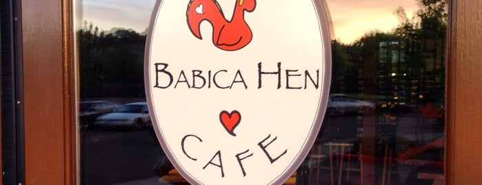 Babica Hen Cafe Dundee is one of Rosana : понравившиеся места.