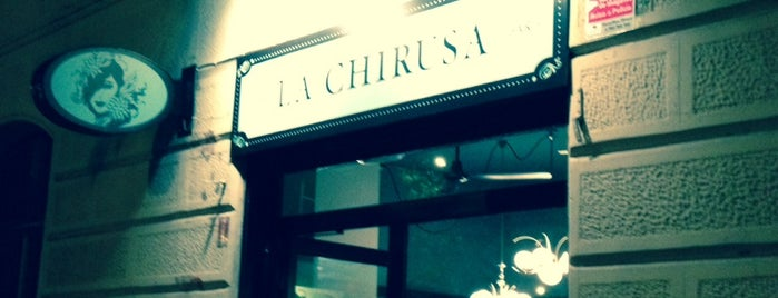 La Chirusa is one of Restaurantes de nivel en Barcelona.