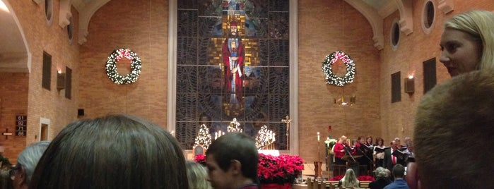 Christ the King Catholic Church is one of สถานที่ที่ Noemi ถูกใจ.