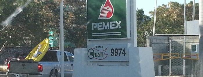 Gasolinera PEMEX is one of Calot : понравившиеся места.