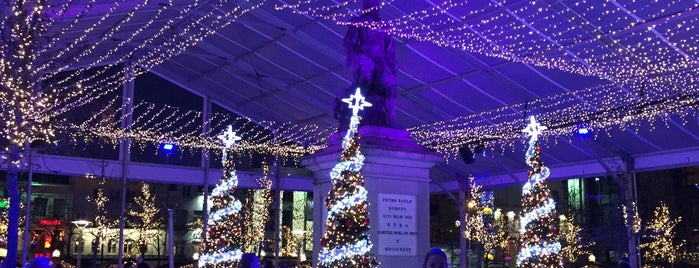 Kerstmarkt Winter in Antwerpen is one of 'Tis the Season: Christmas Markets.