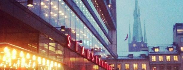 Kulturhuset is one of Stockholm.