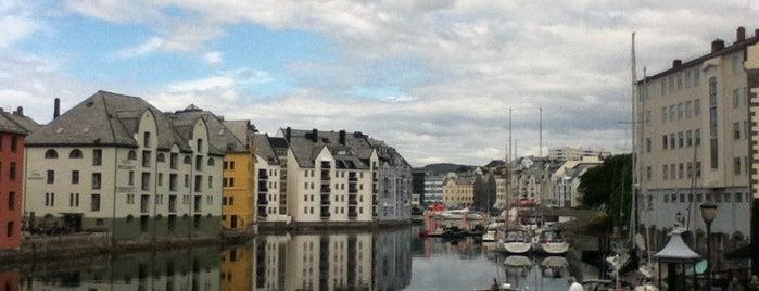 Ålesund is one of Europe.