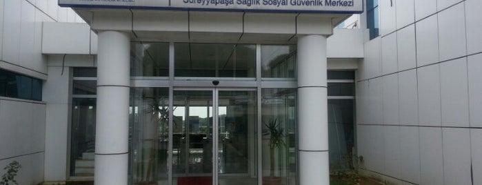 SGK Süreyyapaşa Sağlık Sosyal Güvenlik Merkezi is one of Locais curtidos por Bengü Deliktaş.