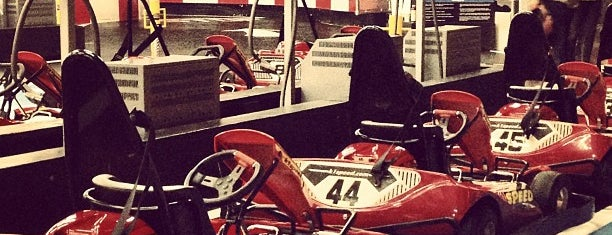 K1 Speed is one of Locais curtidos por Moe.