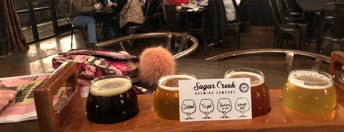 Sugar Creek Brewing Company is one of Tempat yang Disukai Crispin.