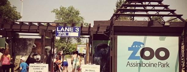 Assiniboine Park Zoo is one of Winnipeg.