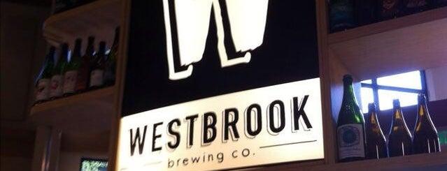Westbrook Brewing Company is one of Beer / Ratebeer's Top 100 Brewers [2020].