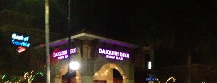 Daiquiri Deck Venice is one of Locais curtidos por Gary.