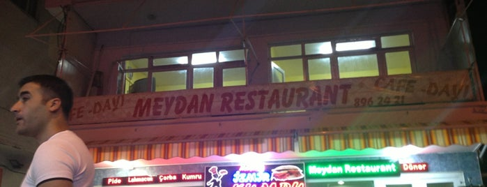 Meydan Restaurant is one of สถานที่ที่บันทึกไว้ของ Emre.