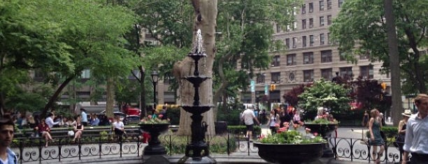Madison Square Park is one of Silicon Alley, NYC (List #3).