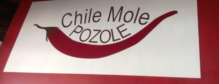 Chile Mole Pozole is one of Lieux qui ont plu à Olivia.