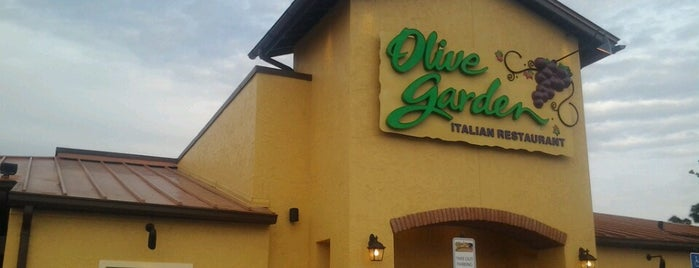 Olive Garden is one of George 님이 좋아한 장소.