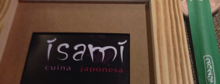 Isami is one of A comer y a beber.