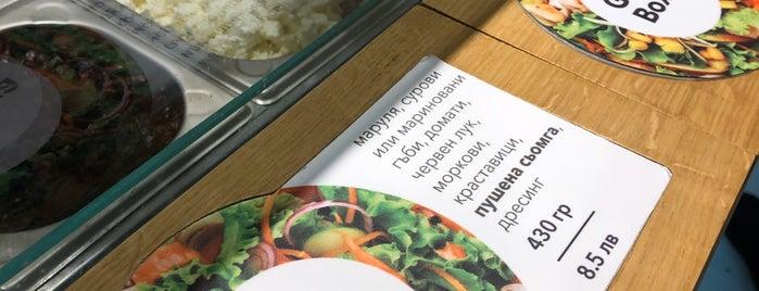Salad Box is one of Lieux qui ont plu à Jana.